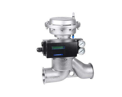 Proportional regulating shut-off valve