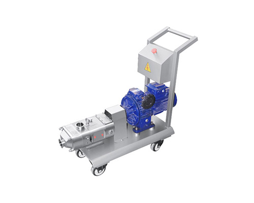 Twin screw pump with Mobile cart and control box