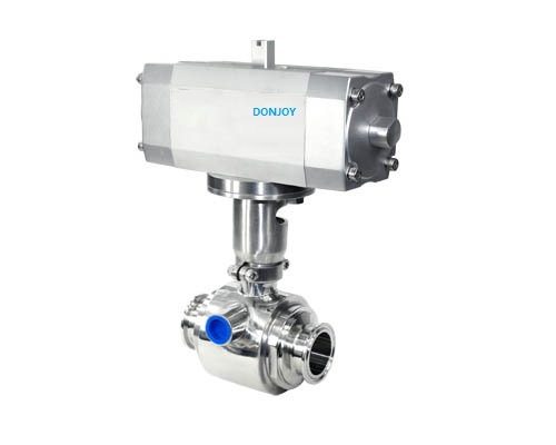 Ball valve + thermal insulation jacket