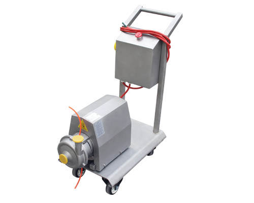 Centrifugal-pump+Mobile cart