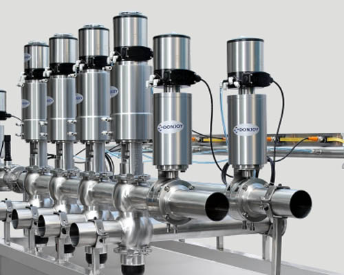 Mixproof valve manifold