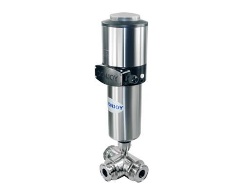 Pneumatic ball valve+C-TOP