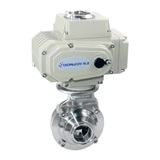 Electric butterfly ball valve