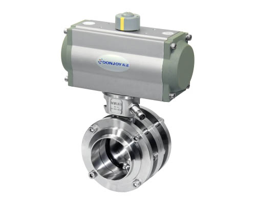 Horizontal Pneumatic Butterfly Valve