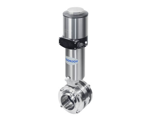 Pneumatic Butterfly Valve+C-TOP