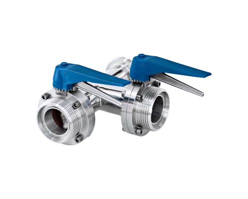 Three-way Butterfly Valve