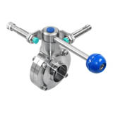 Pull Rod Manual Butterfly Valve