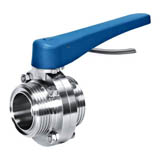 Multi Position Handle Butterfly Valve