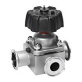 Three-way Diaphragm Valve