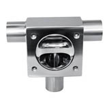 U-type Three-way Diaphragm Valve-U-C