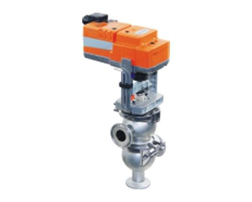 Electric globe reversing valve