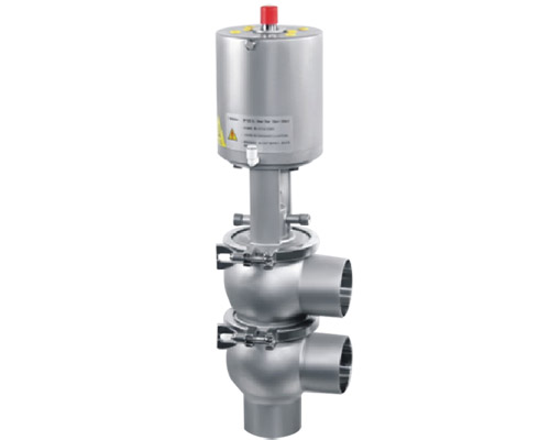 pneumatic reversing globe valve + steam sterilization