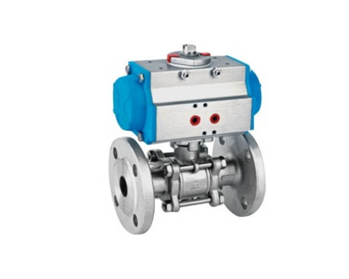 Three-Piece Model Flanged Ball Valve